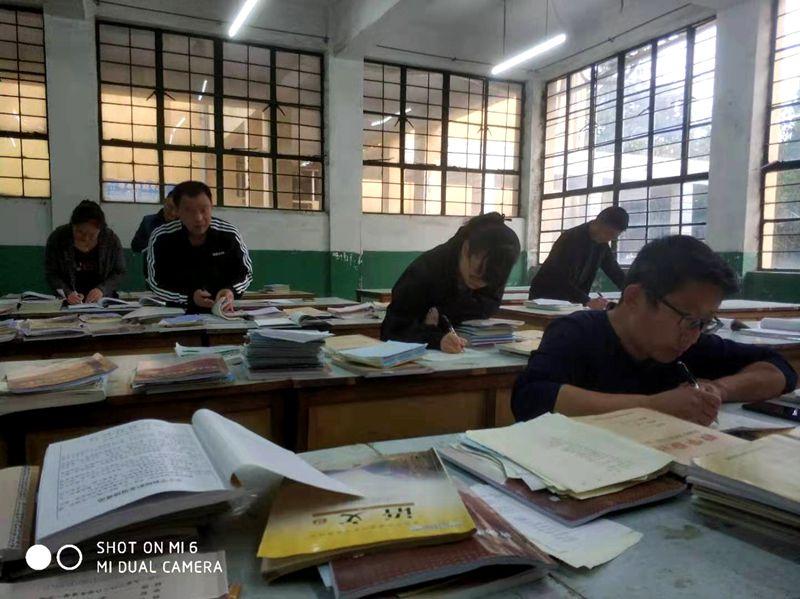 淮北第八高中开展2019年秋季教学常规检查活动