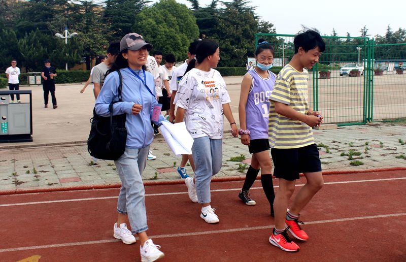 淮北第八高中顺利完成2020年特长生专业测试