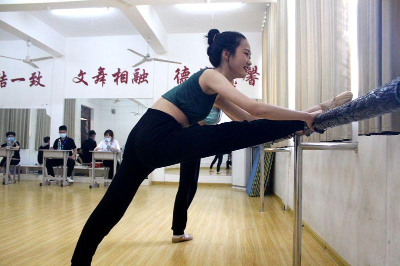 淮北第八高中体育艺术特长生招生专业测试圆满结束