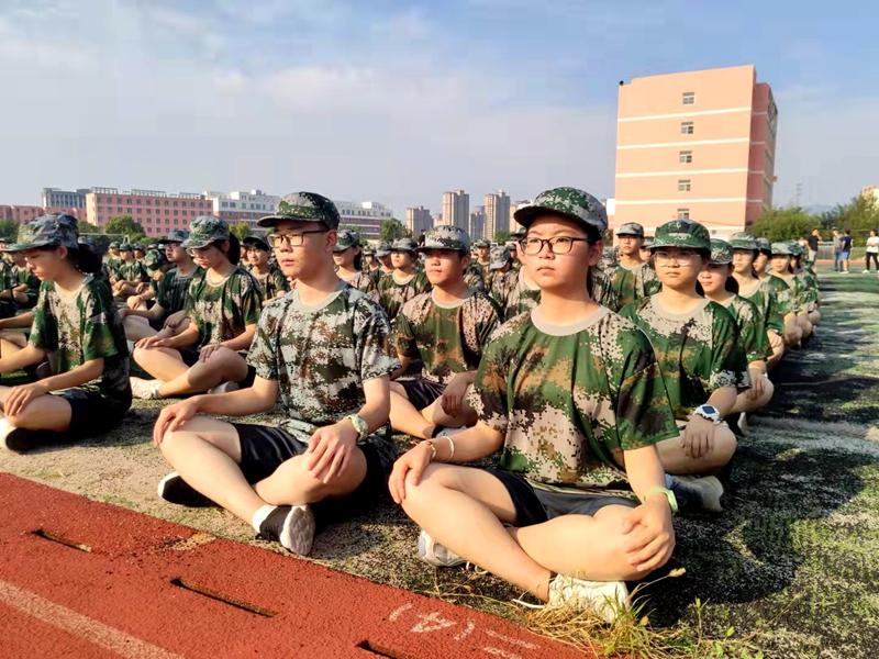 淮北第八高中举行2021级高一新生军训动员会