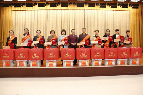 安徽濉溪:创健康家庭 巾帼在行动